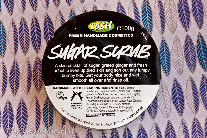 Sugar Scrub exfoliante Lush