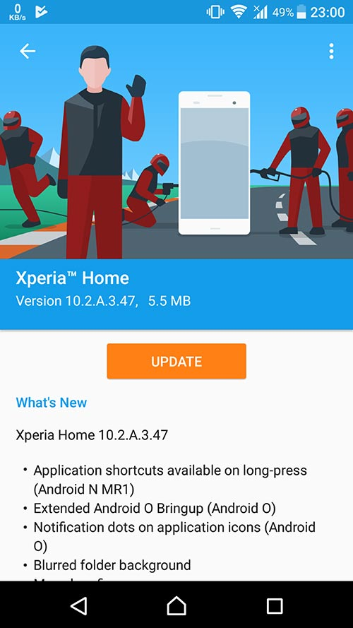 Xperia Home 10.2.A.3.47beta