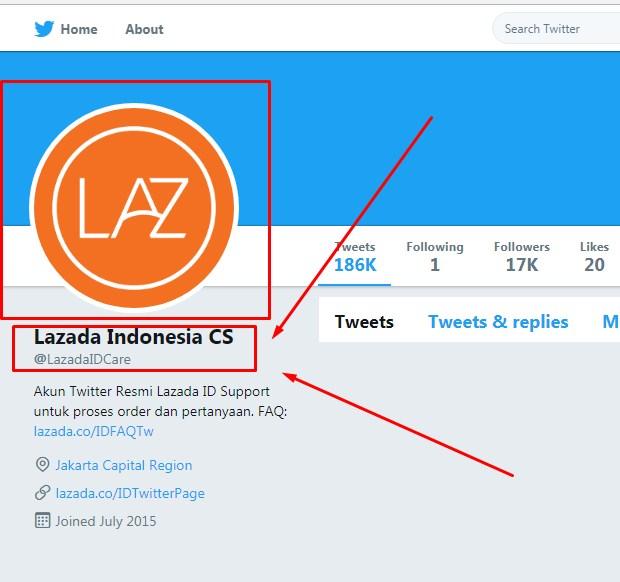 Customer Service Lazada Lewat Akun Media Sosial Terbaru 2019
