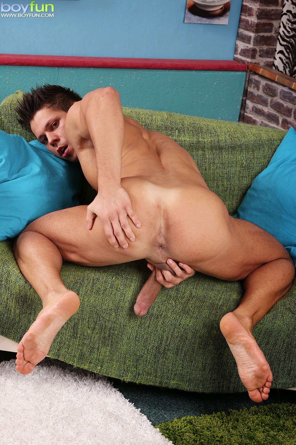 Spy Classmate Over Stall Hot Straight Guy Jerks And Cums