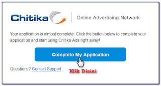 daftar dan pasang Iklan Chitika Di Blog