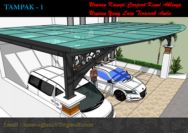 Tips Kanopi Kaca Carport