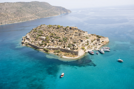 10 Most Famous Abandoned Places In the World | Spinalonga, Crete, Greece