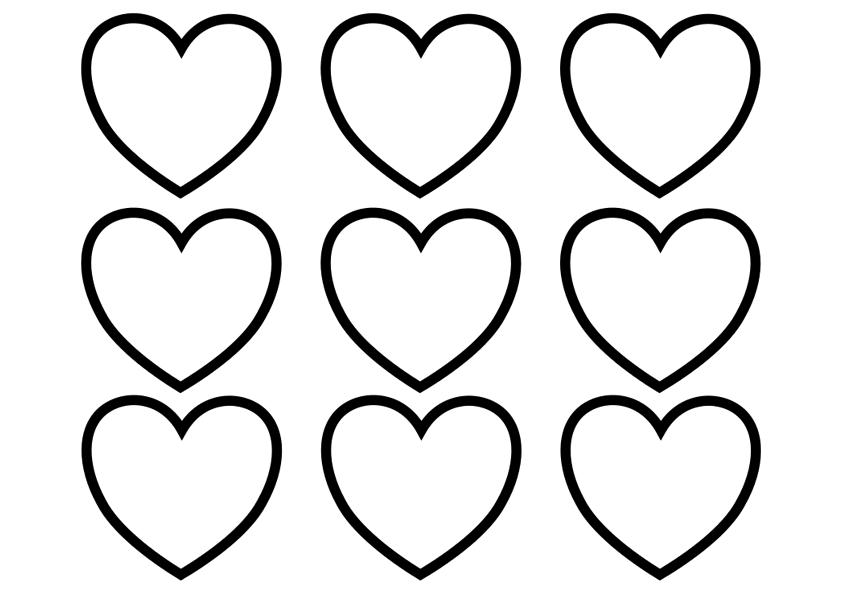 Heart Coloring Pages Khayatart