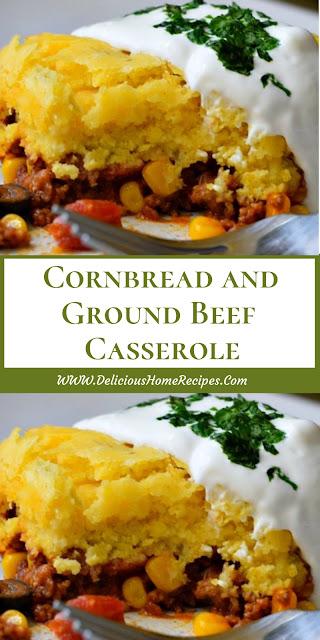 Cornbread And Ground Beef Casserole