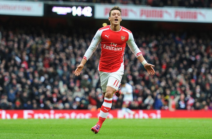 Mesut Ozil Most Creative Players in European