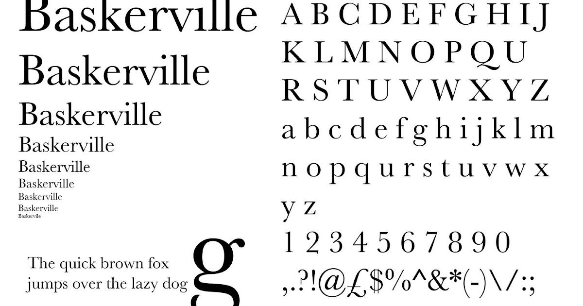 Advanced Typography  Publication Design SR1- Baskerville