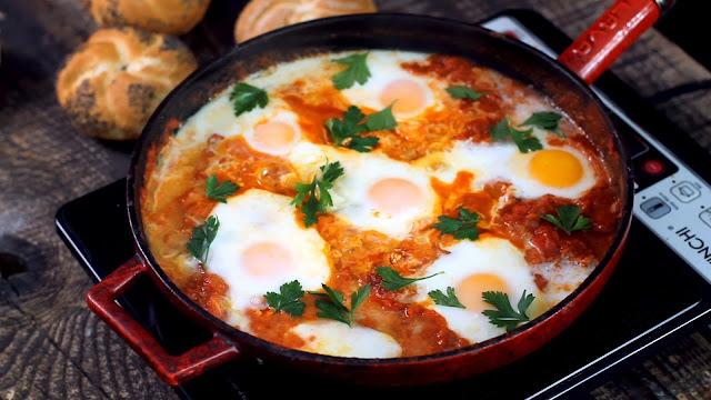 La Mejor Receta De Huevos a La Flamenca