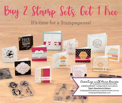 Stampaganza - CreatingwithKaraDavies.closetomyheart.com.au