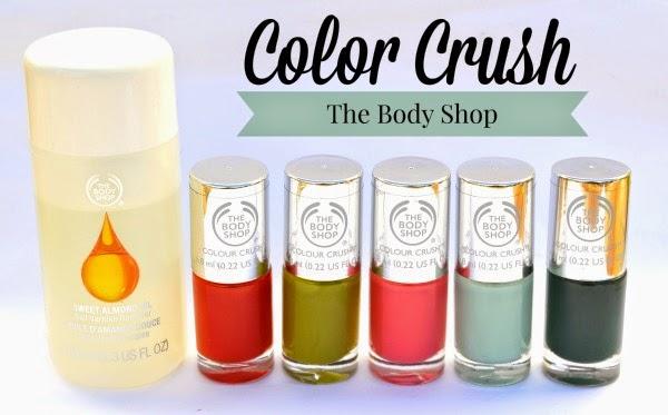 nueva colección de esmaltes de uñas de The Body Shop