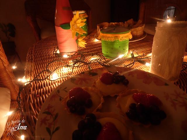 Tartaletas de naranja #DíaDeLaFruta