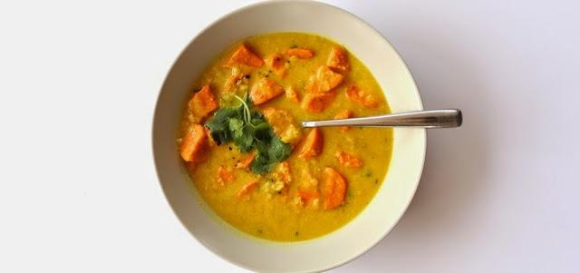 supa cu linte, ghimbir si turmeric este delicioasa si intareste imunitatea