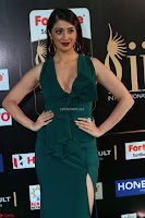 Laxmi Rai in a Deep neck Beautiful Green Gown Cute Actress Laxmi Rai ~  050.JPG