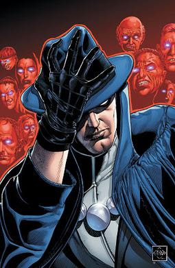 Cover of The Phantom Stranger  (Jan. 2013) Art by Ethan Van Sciver.
