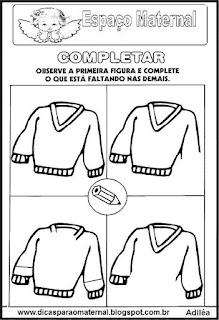 Atividade completar objetos