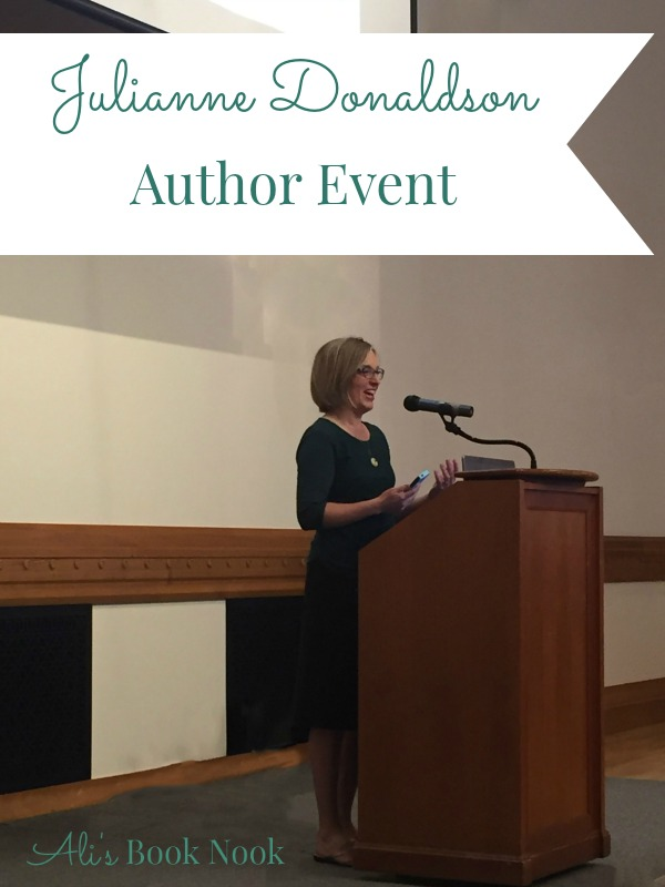 Julianne Donaldson author visit provo library utah