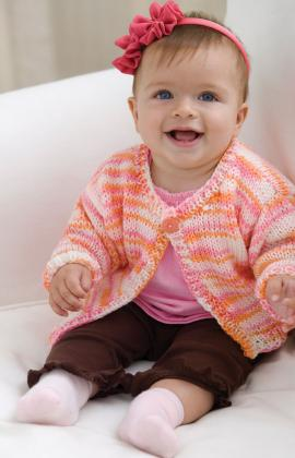 Free Knitting Patterns For Baby Sweaters Easy : Miss Julias Patterns: Free Patterns - 35 Baby Sweaters to ...