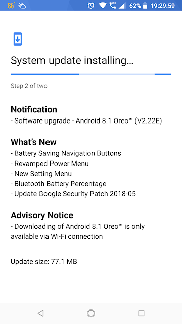 Nokia 6.1 June 2018 Android Security update