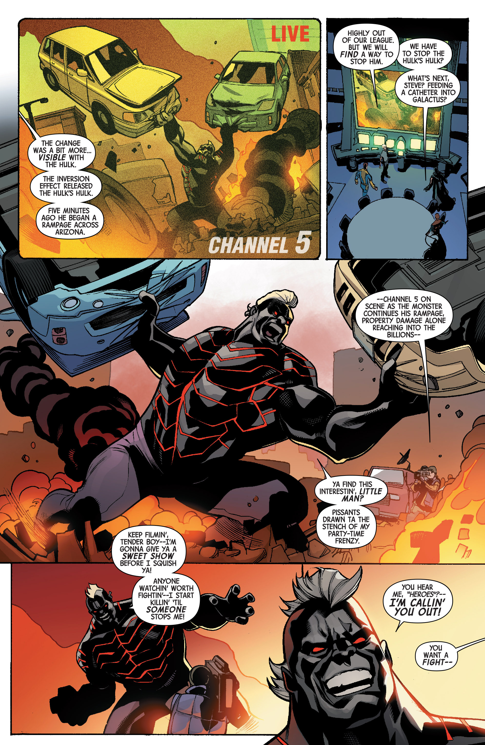Read online Avengers & X-Men: AXIS comic -  Issue #5 - 15