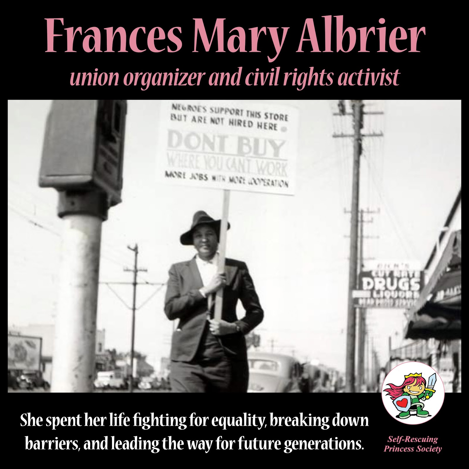 Self-Rescuing Princess Society: Frances Mary Albrier - union ...