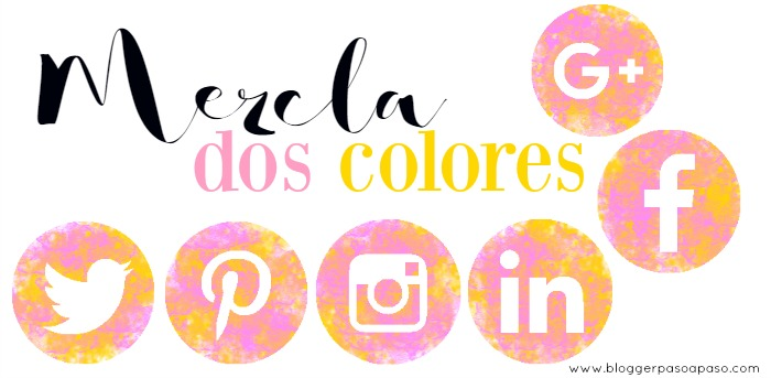 iconos redes sociales freebie rosa chicle y amarillo