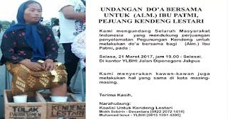 Meninggal di Jakarta, Patmi Peserta Cor Kaki Dimakamkan di Tambakromo