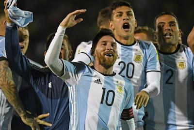 Info dan data lengkap Timnas Argentina di Piala Dunia 2018