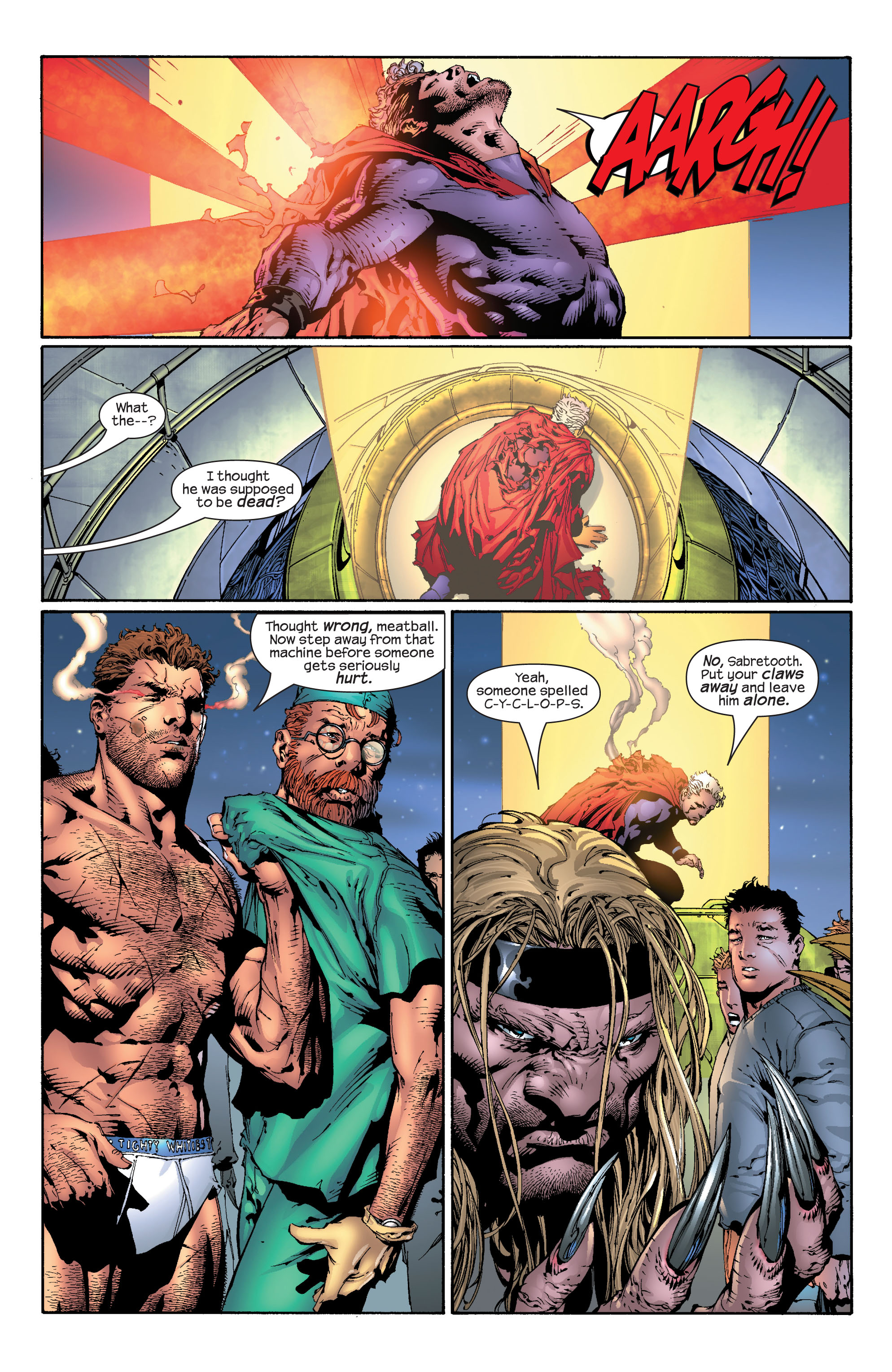 Read online Ultimate X-Men comic -  Issue #30 - 14