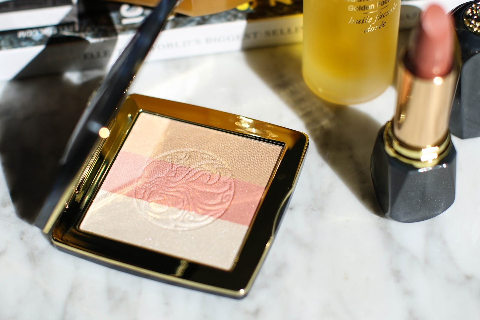 Review of the new Oribe skincare and makeup line.