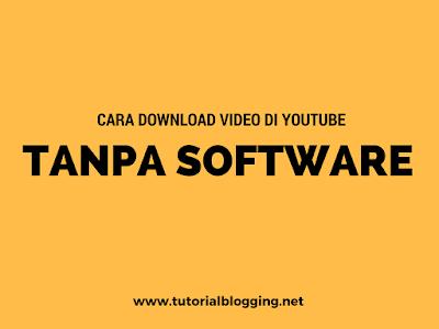 Cara Download Video di Youtube Tanpa Software (savefrom.net)