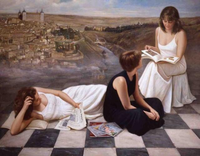 Современные художники Испании. Soledad Fernandez 16+ 10