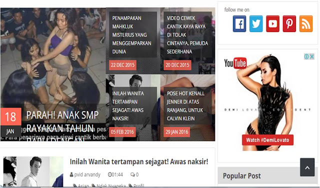 Membuat Recent Fiture Post Slider Responsive Macho