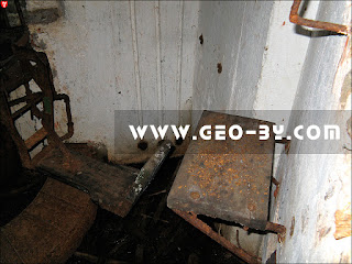 Внутри ДОТ-а №125. Станок ПС-31 системы Горносталева