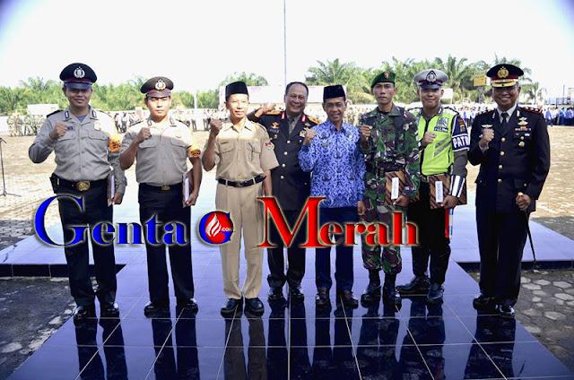Kapolda Lampung Pimpin Upacara Kesaktian Pancasila di Mesuji