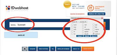 Cara Mudah Menyewa Layanan Web Hosting di IDwebhost.com