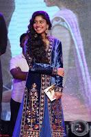 Beautiful Cute Sai Pallavi in dark Blue dress at Fidaa music launch  Exclusive Celebrities galleries 003.JPG