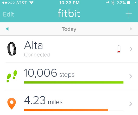 Me vs. The FitBit ~ A Bacon Flavored Life