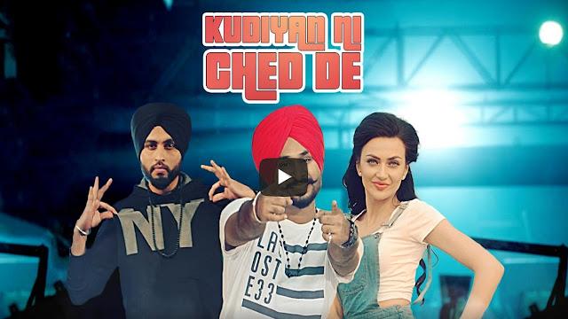 Kudiyan Ni Ched De Lyrics Love Bhullar | Punjabi Song