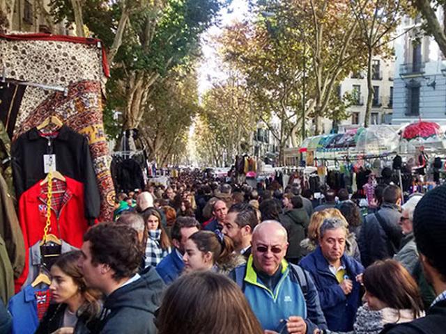 El Rastro Madrid mercado