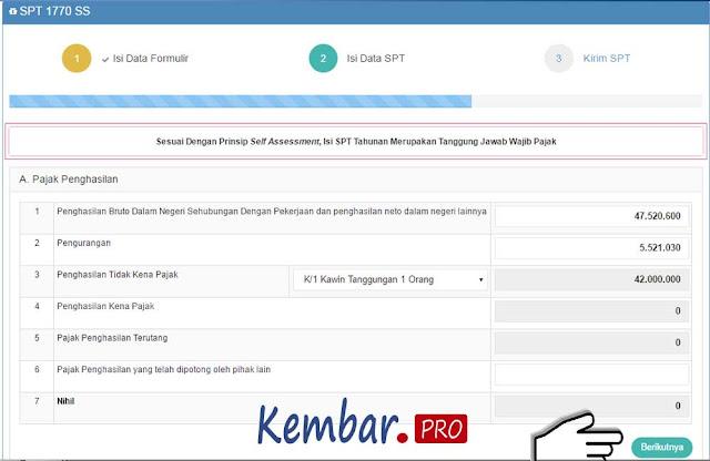 Cara Lapor Pajak SPT Tahunan 1770 SS Online 2016 | Artikel Manajemen ...