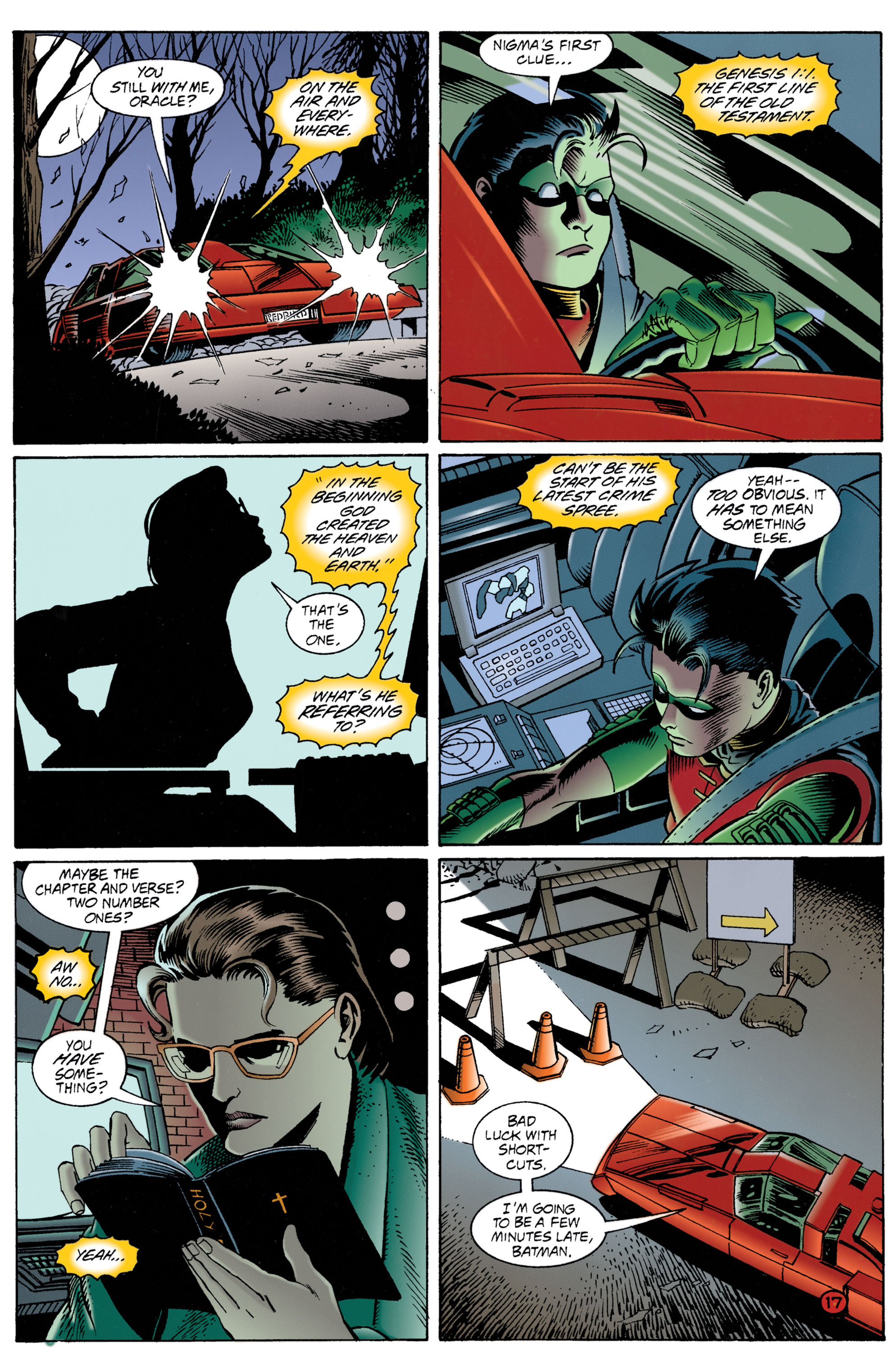 Detective Comics (1937) 706 Page 17