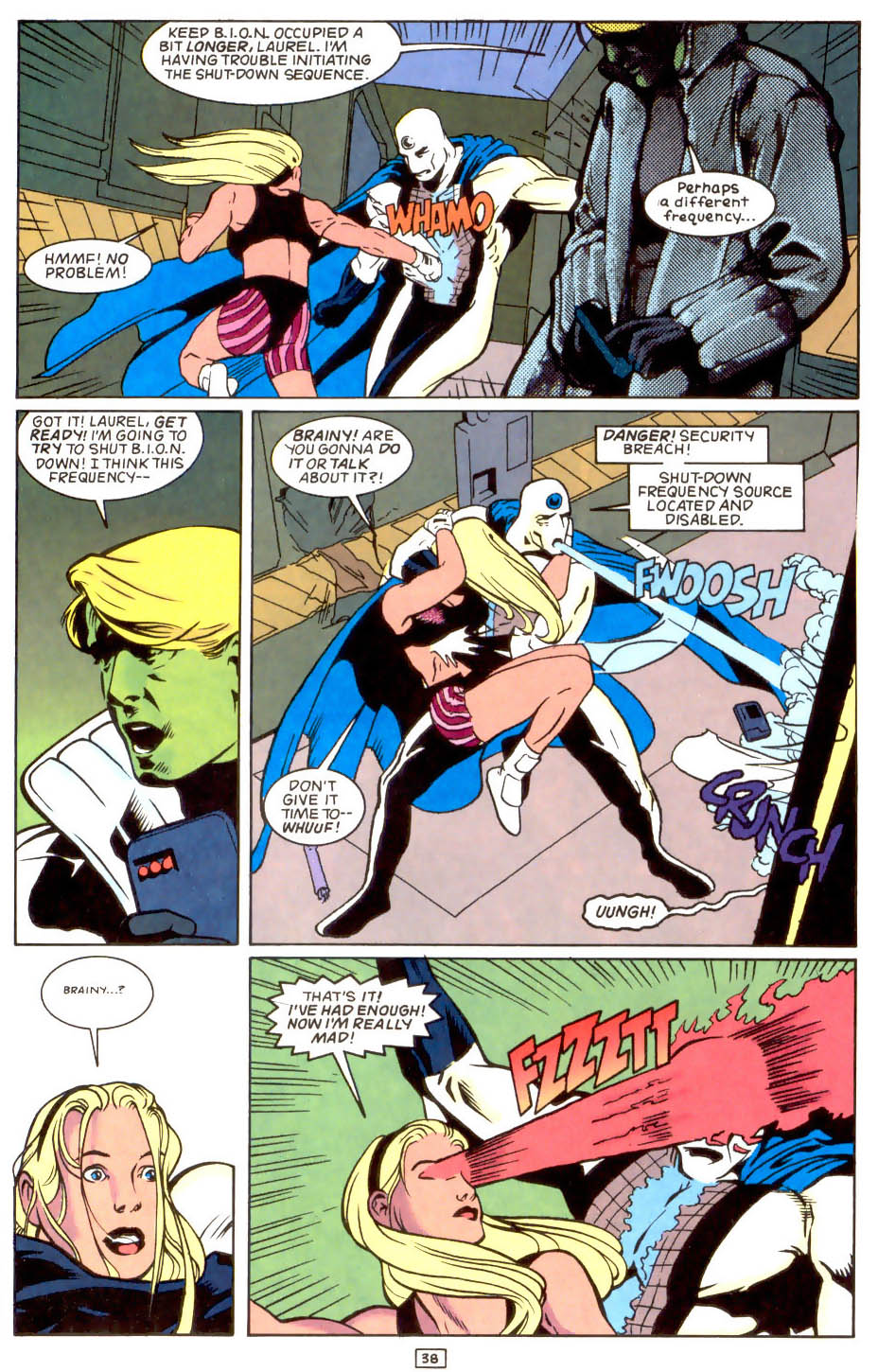 Legion of Super-Heroes (1989) 50 Page 38