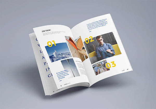 Download Gratis Mockup Majalah, Brosur, Buku, Cover - Photorealistic Magazine MockUp #3