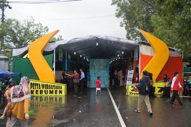 Omset lebih dari 400 Juta, Pesta Wirausaha Kebumen 2017 Terbilang Sukses