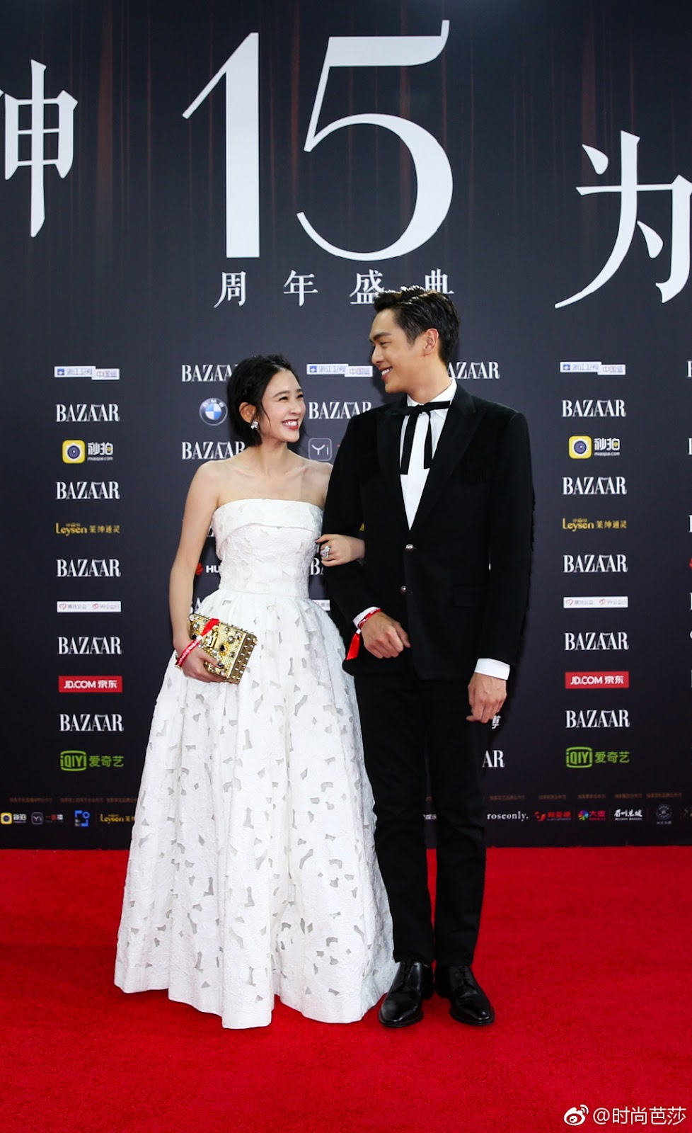 Tina Tang Zhang Ruoyun Red Carpet