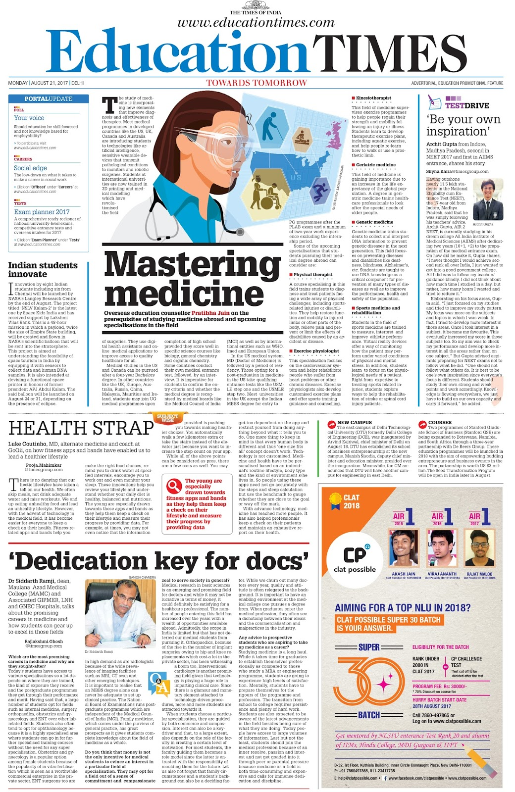the pressures view and journey towards the medical career Start studying personal growth & development exam 1 learn by the pressures placed on him to go to college and make help kevin move towards a.