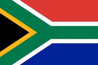 Bendera negara Afrika Selatan 6 warna