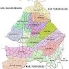 Peta Kabupaten Wonosobo