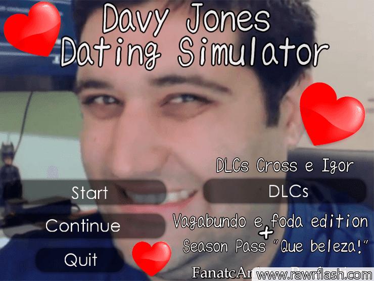Era uma vez um homem chamado Davy Jones, ele era um ótimo youtuber. Ele vivia feliz com seus 7 vídeos ou mais todo dia.. Mas uma coisa deixava nosso herói triste. Davy Jones não tinha... Uma namorada. Nem seus 7 vídeos ou mais todo dia o alegravam... Até que um dia... Ele conhece você! Uma bela gamer que adora GTA V.