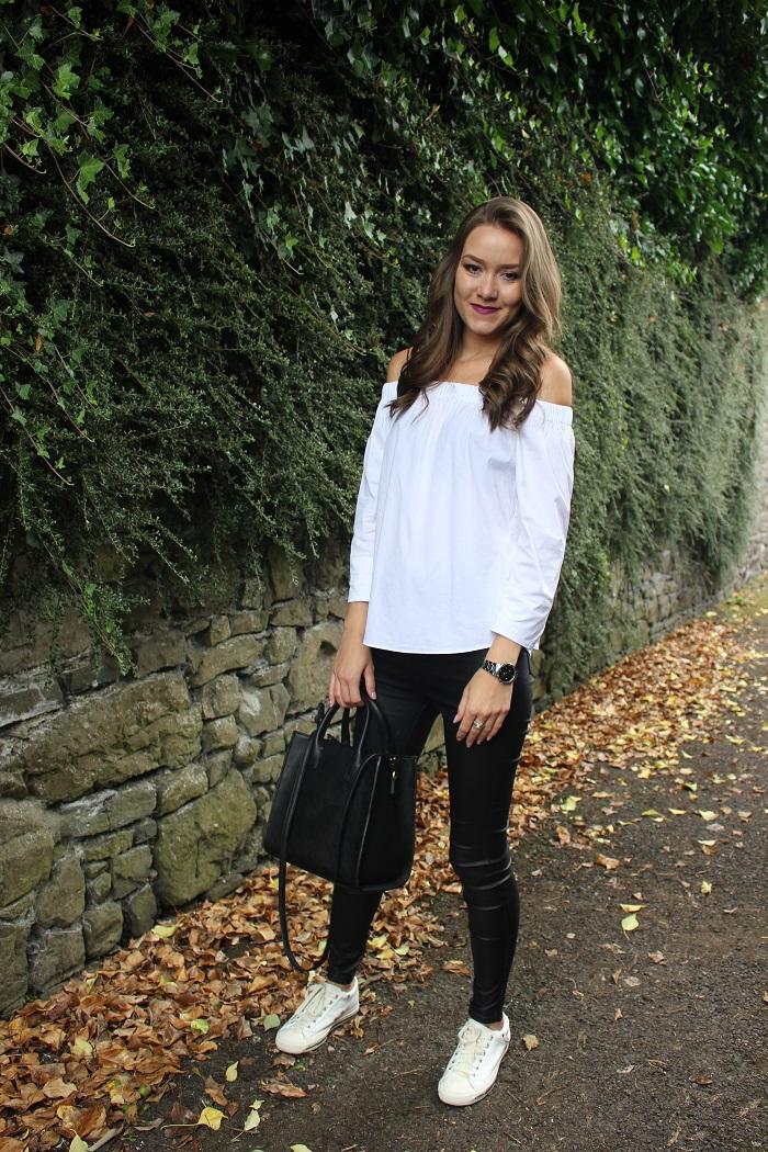 black jeans, irish blogger, new blogger